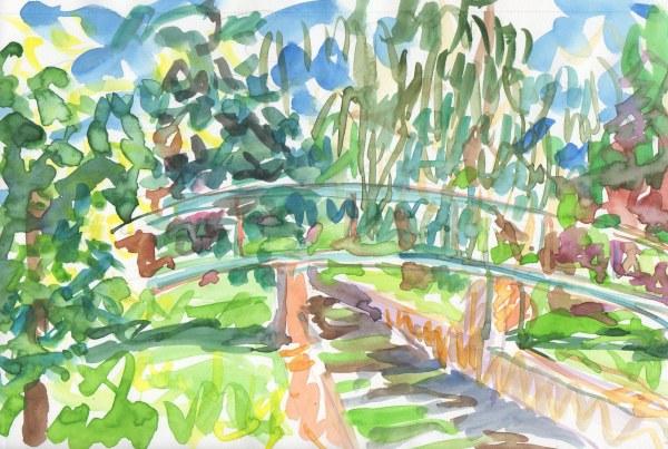 foot bridge, pleasant valley parkway, providence